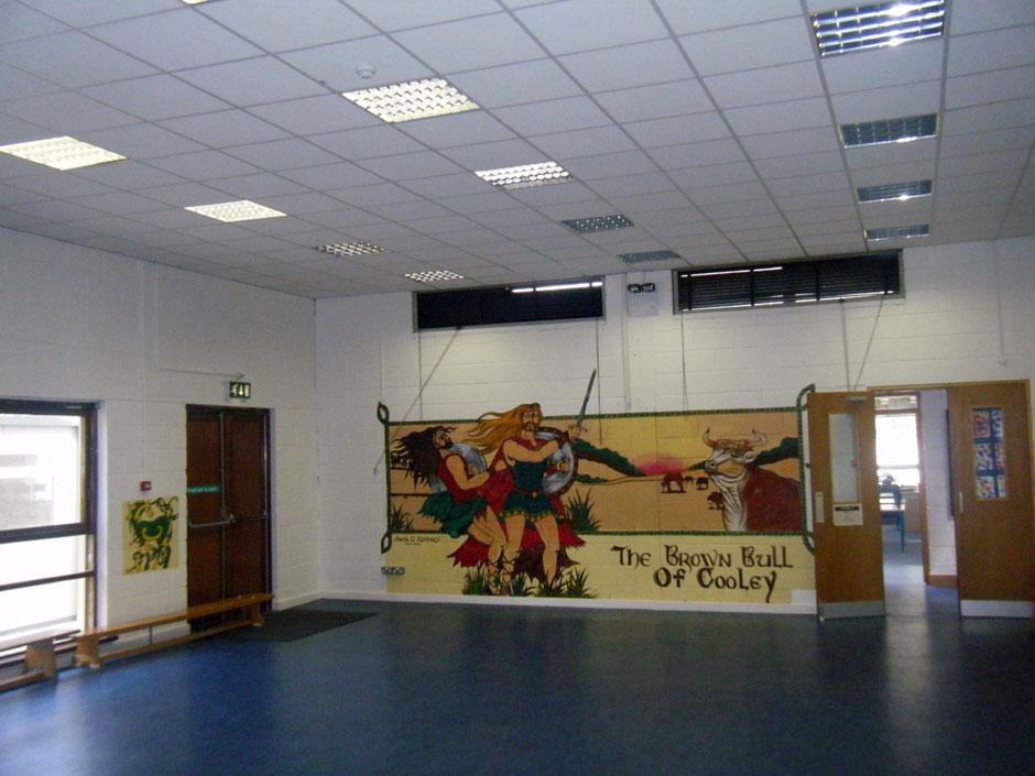National School Kilcock interior