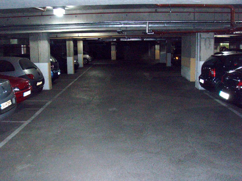 Steeven's Gate underground carpark