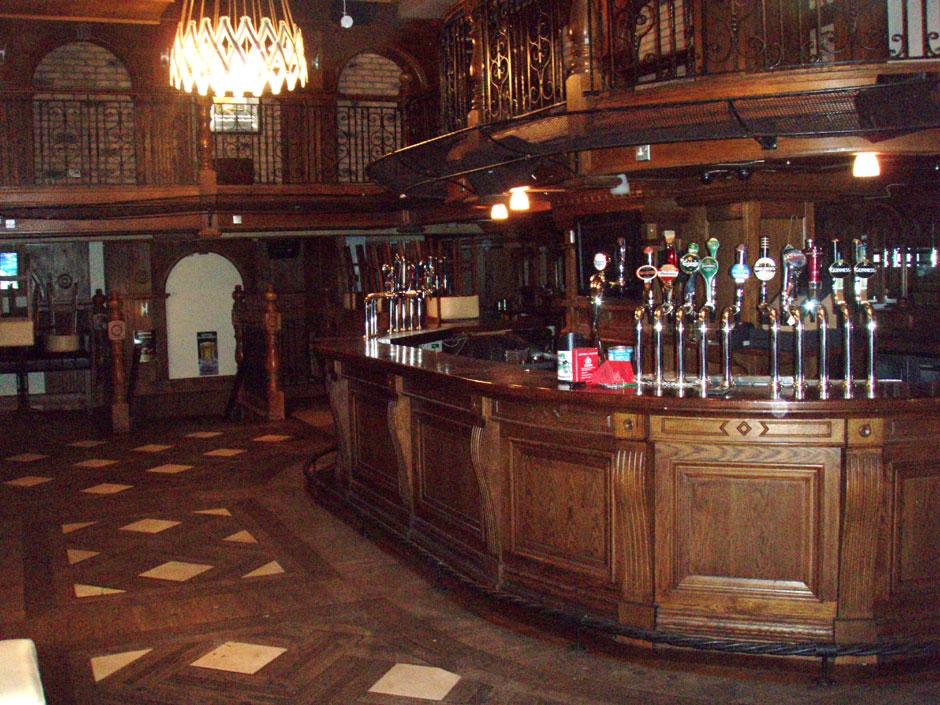Interior of The Tram pub